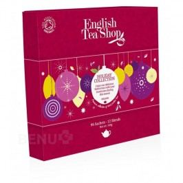 English Tea XMAS 96 n.s. červené ozdoby papír. bio