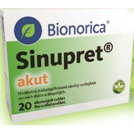 SINUPRET AKUT obalené tablety 20