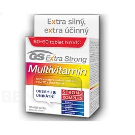 GS Extra Strong Multivitamin tbl.60+60 2017