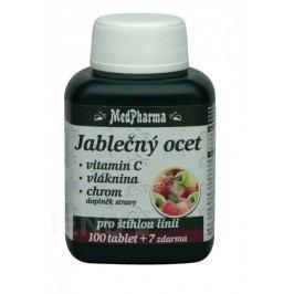 MedPharma Jablečný ocet+vlák.+vit.C+chrom tbl.107