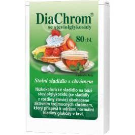 DiaChrom se steviolglykosidy tbl.80 Sladidla