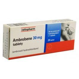AMBROBENE 30MG neobalené tablety 20