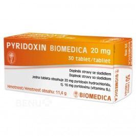 Pyridoxin Biomedica 20mg tbl.30
