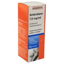 AMBROBENE 7,5MG/ML perorální SOL 40ML