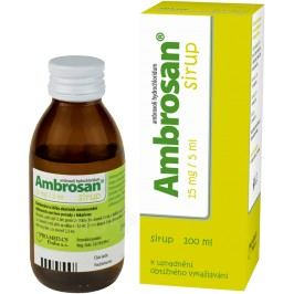 AMBROSAN 15MG/5ML sirup 100ML