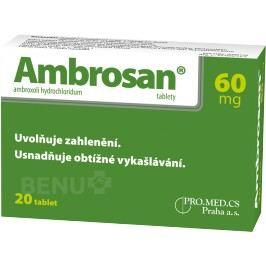 AMBROSAN 60MG neobalené tablety 20