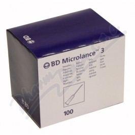 BD Microlance Inj. jehla 25G 0.50x25 oranž. 100ks