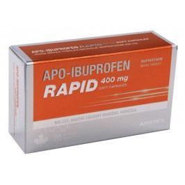 APO-IBUPROFEN RAPID 400 MG SOFT CAPSULES 400MG měkké tobolky 20 I Léky na migrény a bolesti hlavy