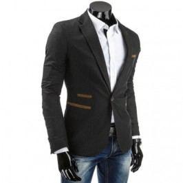 Elegantní pánské pohodlné sako se zapínáním na jeden knoflík
