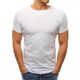 Pánské tričko slim fit bílé