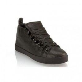 Pánské moderní kožené boty (tenisky) GOV DENIM 008-3DG grafitové
