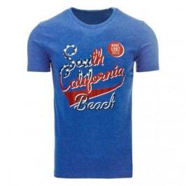 Pánské tričko s potiskem (triko) světle modré