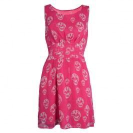 šaty dámské POIZEN INDUSTRIES - Slip Skull - Pink L