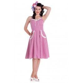 šaty dámské HELL BUNNY - Charlotte - Pink - 4226 XS