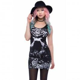 šaty dámské IRON FIST - Garden Secrets - Black - IFLDRS057 XL