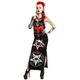 šaty dámské CUPCAKE CULT - Black Crow - Black XL