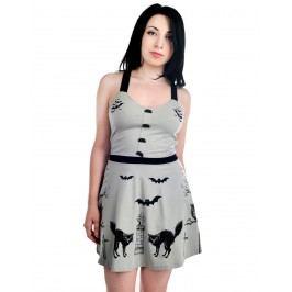 šaty dámské TOO FAST - Graveyard - WDDO-T-GRAVE S