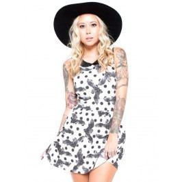 šaty dámské IRON FIST - Nocturnal - White - 1035IFLLIC L