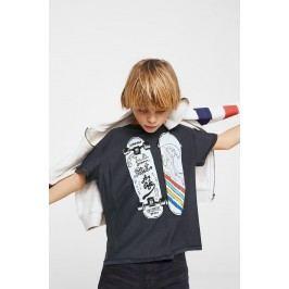 Mango Kids - Tričko dětské Skate 110-164 cm