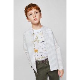 Mango Kids - Dětské tričko Technic 110-164 cm