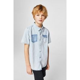 Mango Kids - Dětská košile Mario 110-164 cm