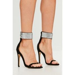 Missguided - Sandály chain mail cuff