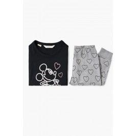 Mango Kids - Dětské pyžamo Mickey Mouse 122-140 cm