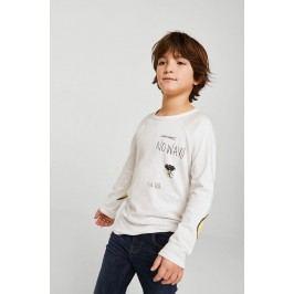 Mango Kids - Tričko s dlouhým rukávem dětské Feliz 110-164 cm S dlouhým rukávem