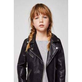Mango Kids - Dětská bunda kožená Sandym2 128-164 cm
