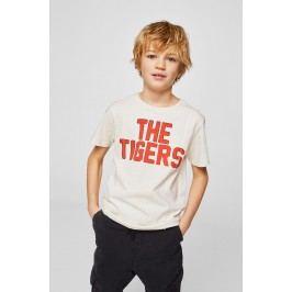 Mango Kids - Dětské tričko Tiger 110-164 cm