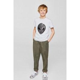 Mango Kids - Dětské tričko Praga 110-164 cm