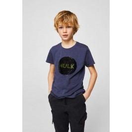 Mango Kids - Dětské tričko Marv Capitain America 110-164 cm
