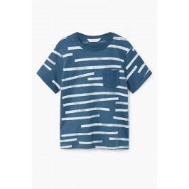 Mango Kids - Dětské tričko Casual 110-164 cm