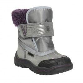 Dívčí zimní obuv s kožíškem