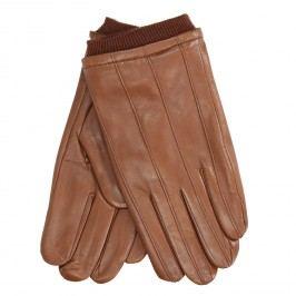 Kožené rukavice hnědé