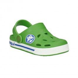 Dětské zelené sandály