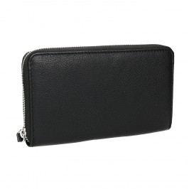 Kožená dámská peněženka černá Peněženky pro ženy