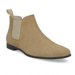 Kožené kotníčkové Chelsea Boots
