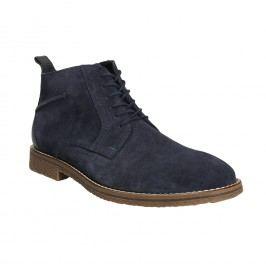 Modrá kotníčková obuv