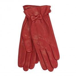 Červené kožené rukavice