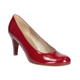 Červené dámské lodičky