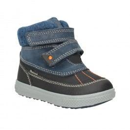 Dětská zimní obuv z kůže