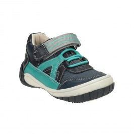 Modrá chlapecká obuv