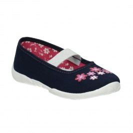 Domácí obuv s kytičkami