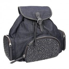 Dámský batoh s kovovými ozdobami