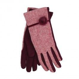 Dámské rukavice s bambulkou