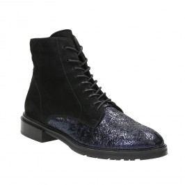 Kotníčková kožená obuv