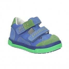 Dětská kožená obuv na suché zipy Sandály a pantofle
