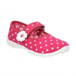 Domácí pantofle s puntíky Boty