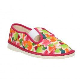 Dívčí domácí obuv se vzorem